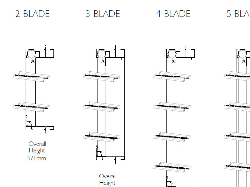 The Altair Louvre Easyscreen Window Framing System