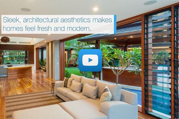 Create Comfortable Living Environments (QLD) with Breezway Louvre Windows