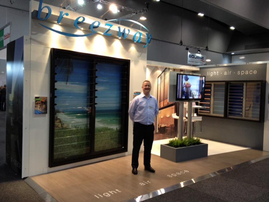 Exhibition Stand Builders Melbourne : Breezway s at the hia melbourne home show australia