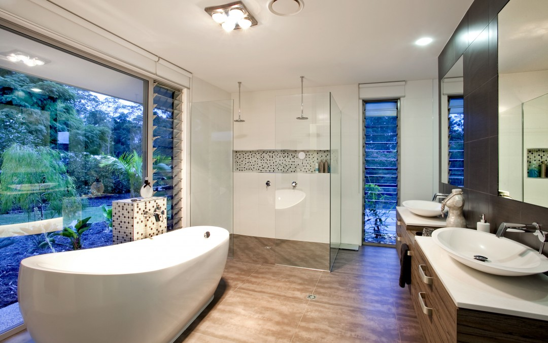 Using Altair Louvres in bathrooms