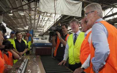 Breezway Louvre Windows receives a visit from the Prime Minister