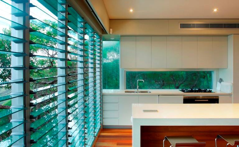 ventilation in homes using louvres