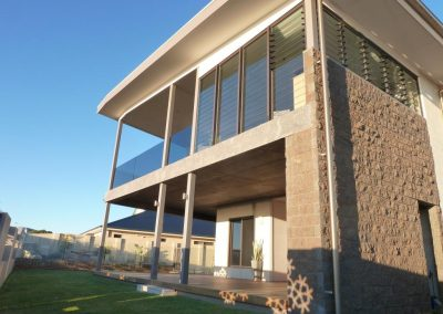 Outside view of Breezway Louvre Windows.