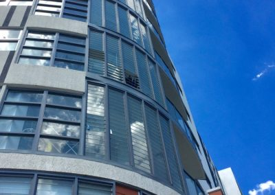 bankstown apartments in sydney use the altair louvre stronghold system