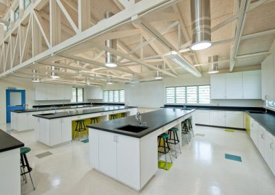 The school science laboratory uses Breezway Louvre Windows