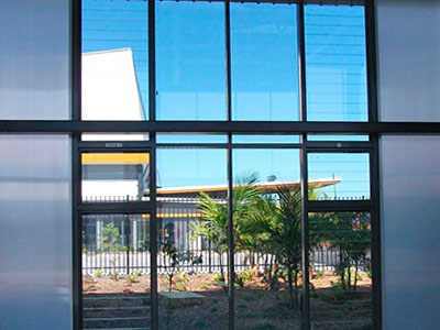 Tomago Learning Facility, Powerlouvres Control Ventilation