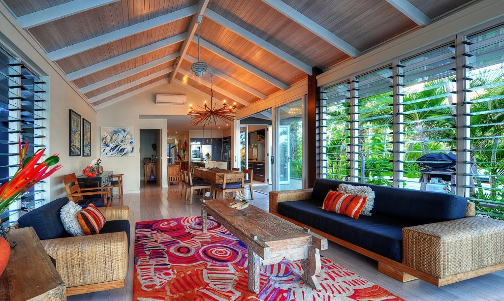 Ocean Front Design With Louvre Windows For Views And Breezes