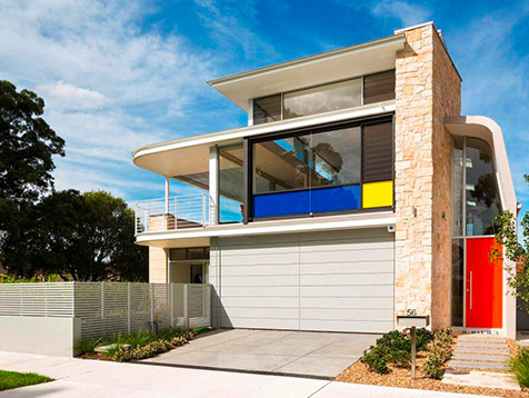New Sydney Home has Louvre Windows, Space and Comfort