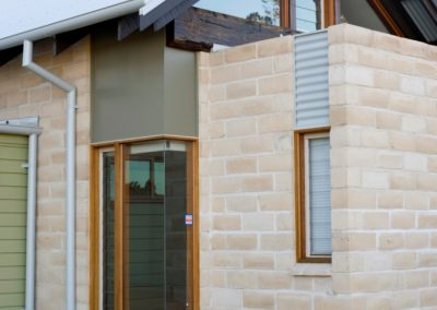Small but efficient Altair louvre window in timber frame