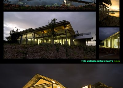 Selection of images of Tyto Information Centre