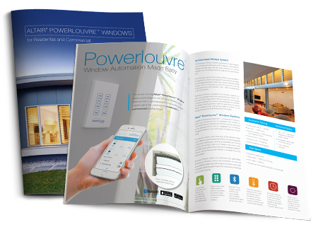 Breezway Powerlouvre Brochure