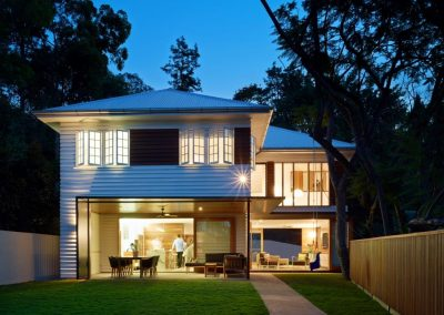 Brisbane suburban cottage renovation with Breezway Altair Louvre Windows