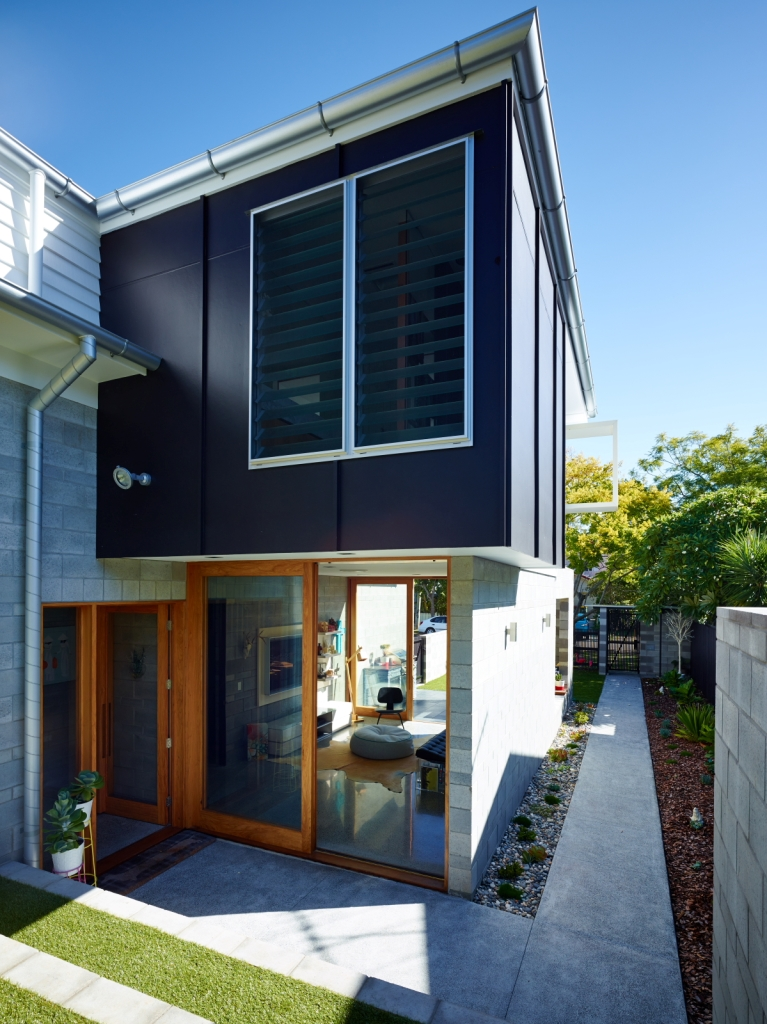 The Terraced House Brisbane Post-War Cottage Renovation