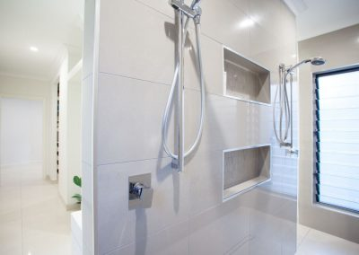 Altair Louvre Windows next to shower to reduce mould and mildew