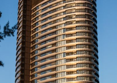 External View of Australia Towers with Breezway Louvre Windows and the Stronghold System
