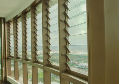 Breezway louvres used in Australia Towers apartments