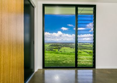 Allow ventilation into bedrooms with breezway louvres
