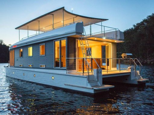The 'Mothership', State-of-the-Art Luxury Boat