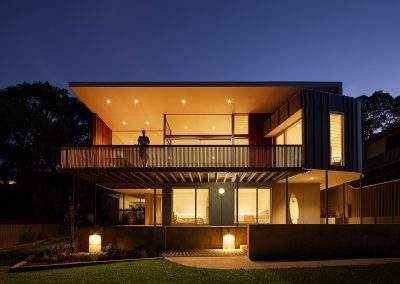 Double storey house with Breezway Louvres