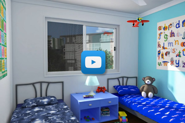 Video Protecting Children From Falls with the Stronghold System