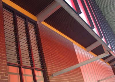 Breezway Louvres offer security bars to protect schools after hours