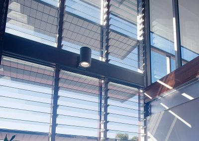 Views can be maximised by installing multiple bays of Breezway Louvres with 152mm glass blades