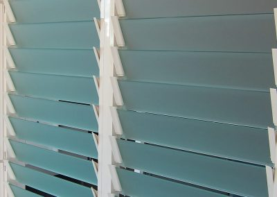 Breezway Louvres with 102mm satina glass blades