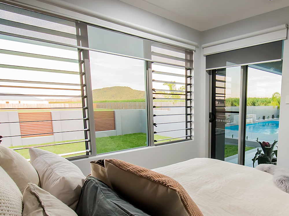 Using Louvre Windows With Curtains Or Blinds Australia