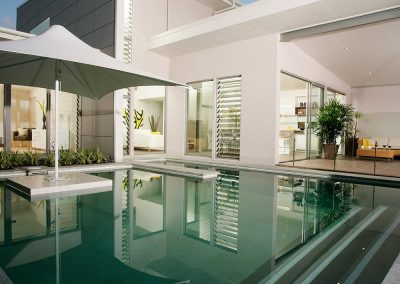 Breezway Louvres can be restricted to meet pool regulations