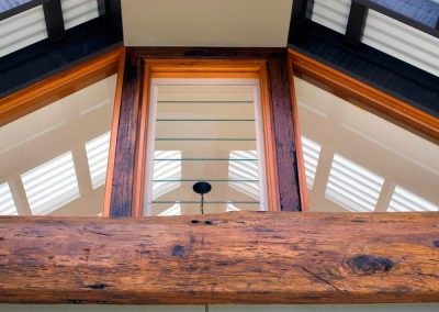 Breezway Louvres can be supplied as componentry for installation into timber frames