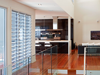 Walls of Breezway Louvres help keep a space naturally light and ventilated