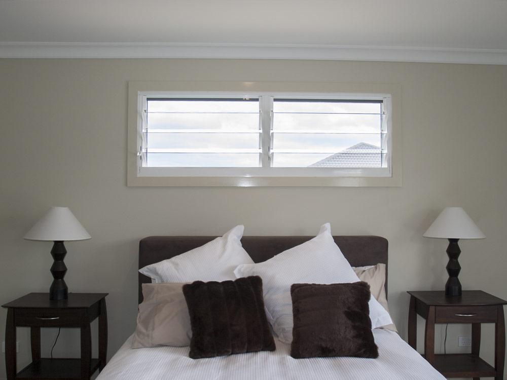 Wide And Short Louvre Window Applications Australia