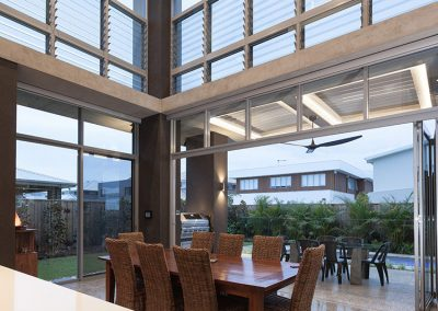 Breezway Powerlouvre Windows can automatically respond to temperature and timers