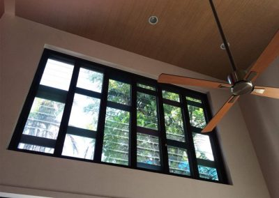 Create an attractive feature window using Breezway Powerlouvre Windows up high in residential buildings