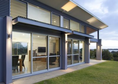 External view with high level Breezway louvres