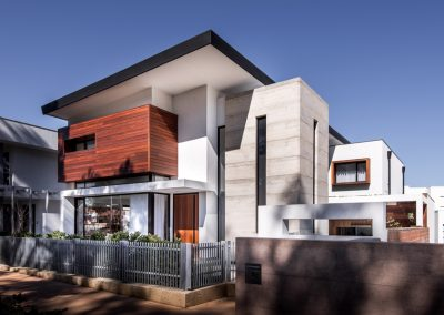 Modern contemporary family home using Breezway louvres