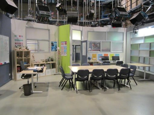 Neighbours TV Set, School Environments with Fresh Air