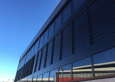 Carnes Hill Community Centre using Breezway Louvres