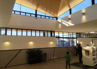 Carnes Hill Library with Breezway Louvre Windows