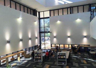 Learning spaces using Breezway Powerlouvres to keep occupants comfortable