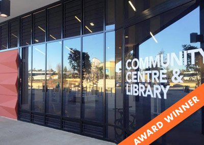 Community Centre & Library, Innovative Site using Powerlouvres