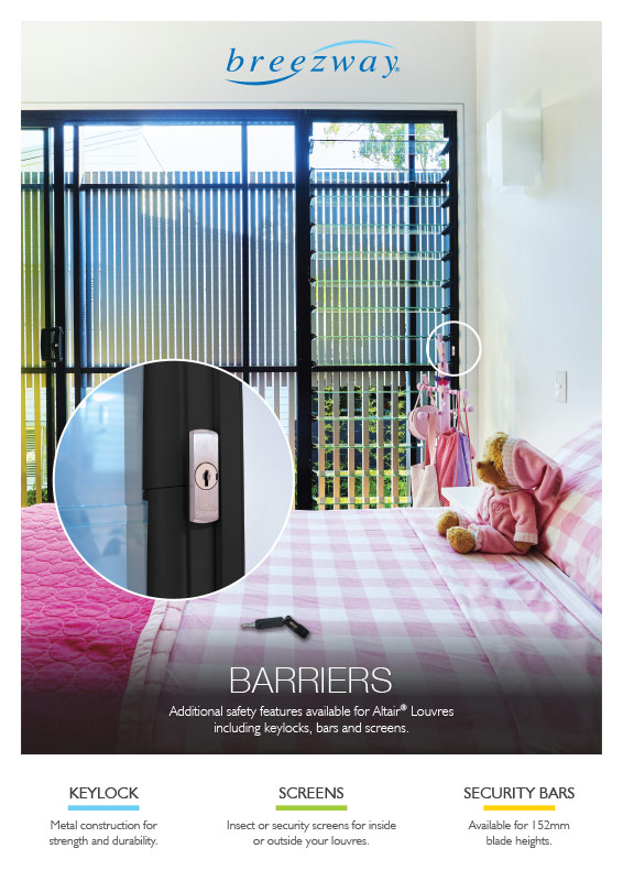Breezway Barriers Product Poster
