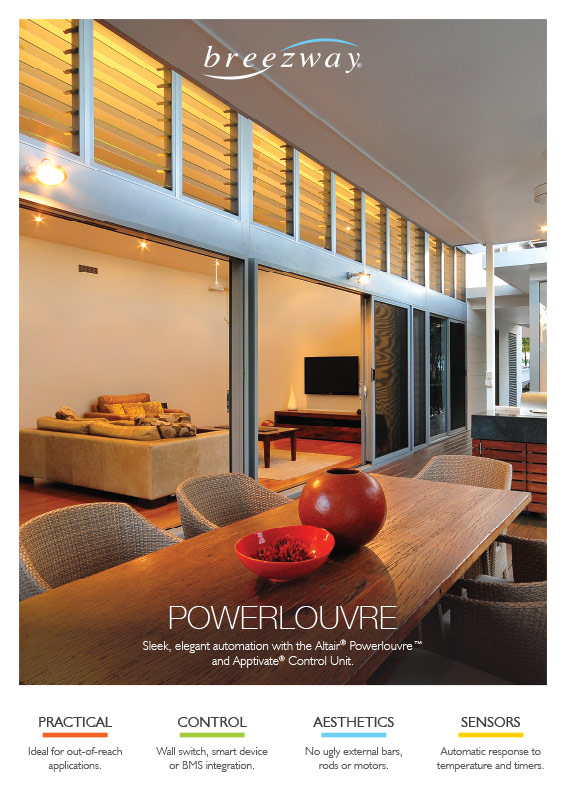 Breezway Powerlouvre Product Poster