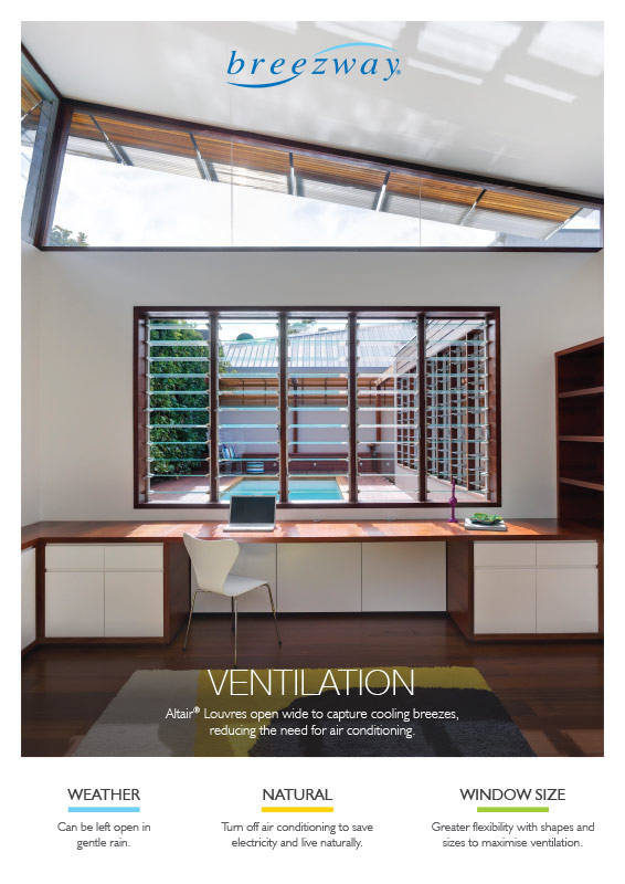 Breezway Ventilation Product Poster