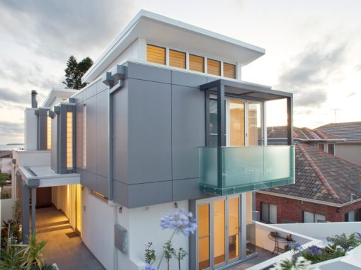 North Bondi Duplex, Modern Apartments with Coastal Views