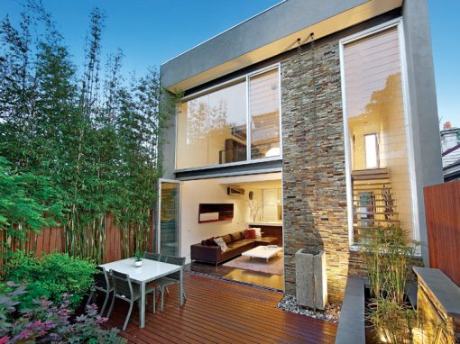 Contemporary Home Balances Luxury and Low Maintenance Living