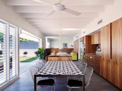 Modest Extension to an Existing Queenslander