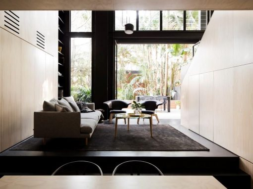Gracious 1890's Terrace House Altered to Refine Living Spaces
