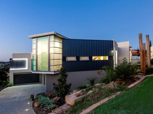 Split Level Home with Elevated City Views