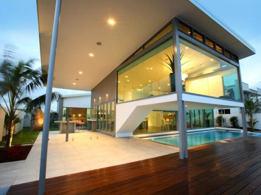 Cutting Edge Home with Waterfront Views